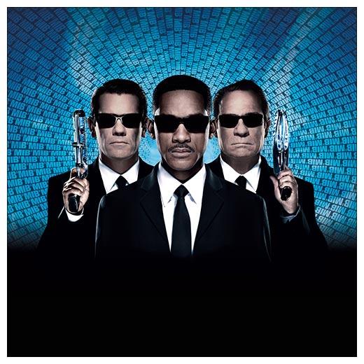 Хардпостер (на твёрдой основе) Men In Black / Люди в Чёрном